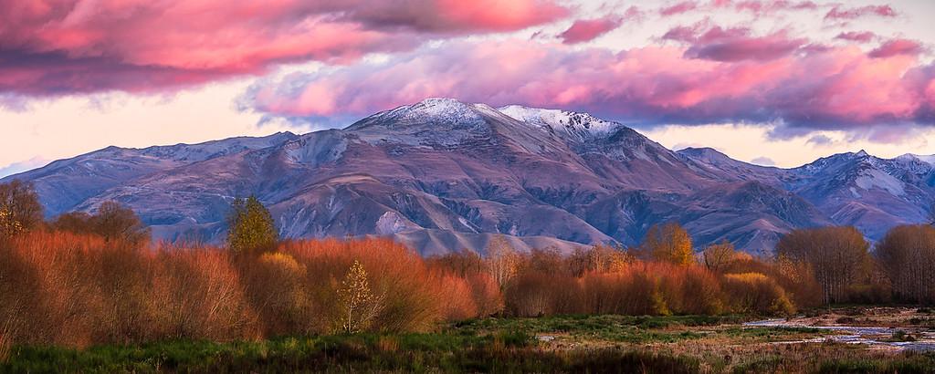 Pink Alpine Sunrise