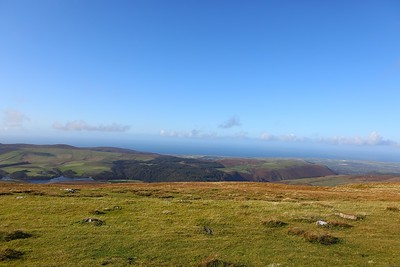 The view from Snaefell 2