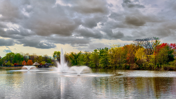 New Market Pond in Late Fall - Piscataway, NJ