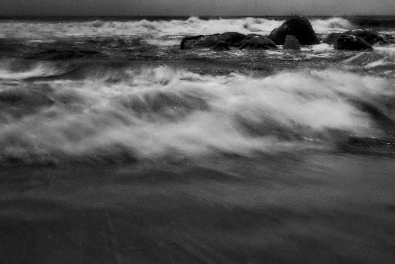 A Wave -slow shutter speed/zoom  (IR)