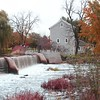 Beckman Mill in the fall