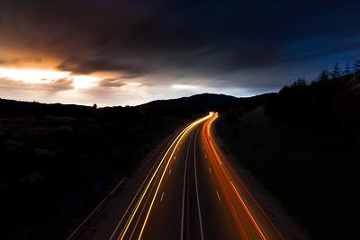 Le  jour chassant la nuit