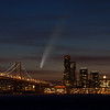 San Francisco & Comet Neowise Composite