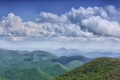 Brasstown Bald view, Georgia