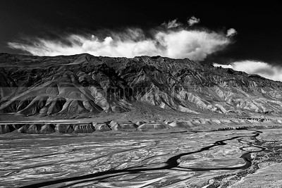A10:The stark beauty of Spiti Valley,Himachal Pradesh creates a pattern of shapes and tones