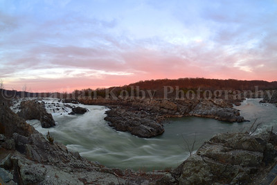 Great Falls Sunset
