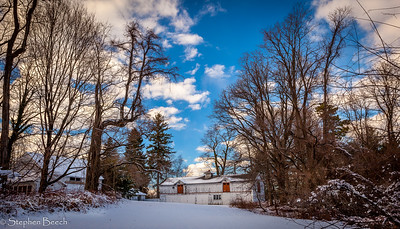 Farm on the Nevis Property, Irvington NY, 2015.