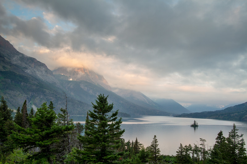 Sunrise, St. Mary Overlook, Glacier National Park