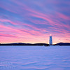 Loon Island Winter Sunrise