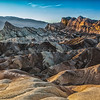 Zabriskie Point Sunset~Death Valley National Park