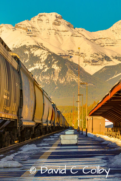 Leaving on a Freight Train