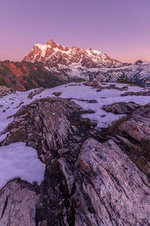Mount Shuksan Alpenglow