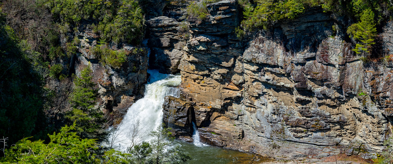 Linville Falls - Linville Gorge Wilderness - NC - Panorama