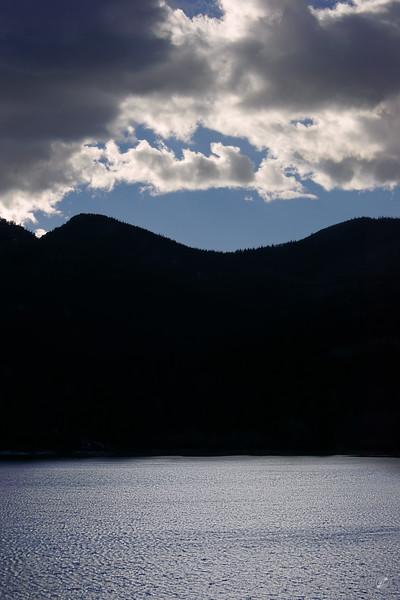 San Isabel Lake Evening