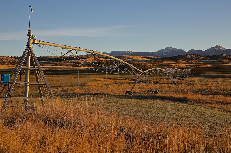 Irrigation.  Montana High Plains