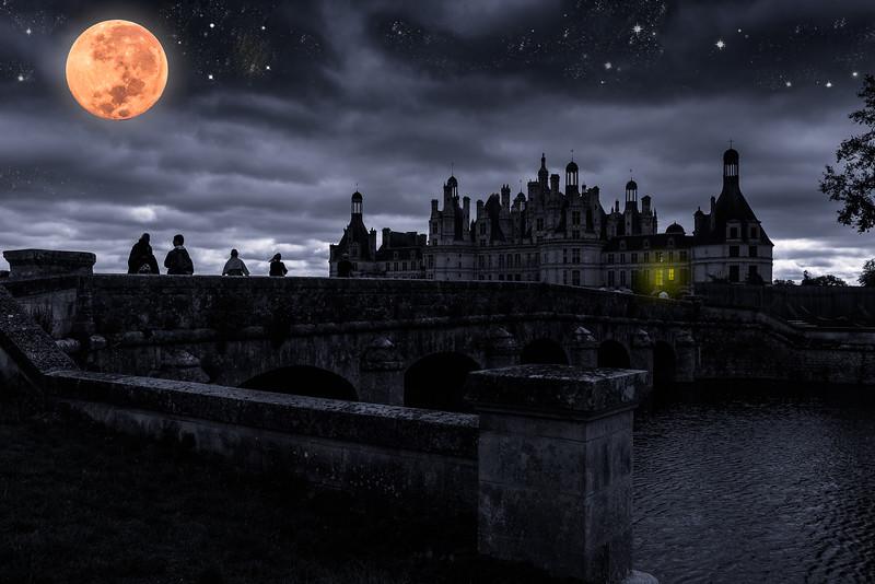 Fêtes nocturnes au chateau de Chambord