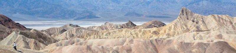 Zabriskie Point. Death Valley, CA.