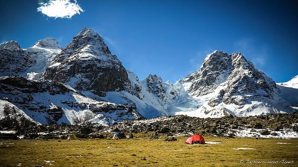 Base Camp....Condorirri Range, Bolivia
