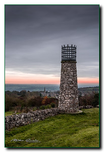 CRICH TOWER AND VILLAGE