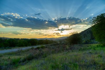 Highway 97 Sunrise