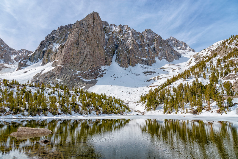 Third Lake and Temple Crag - John Muir Wilderness-2