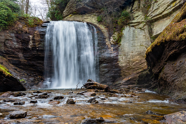 Looking Glass Falls - Pisgah National Forest - NC-12