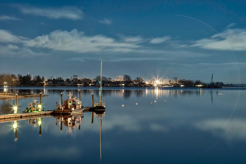 Norwalk Harbor.