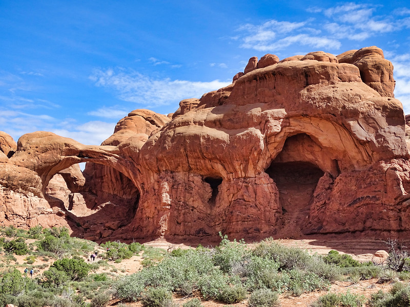 Double Arch, Arches National Park, Utah
