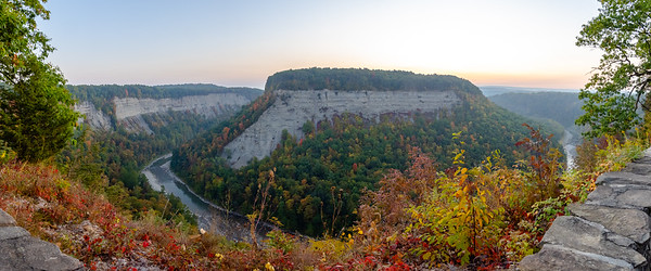 Fall Sunrise at Letchworth State Park