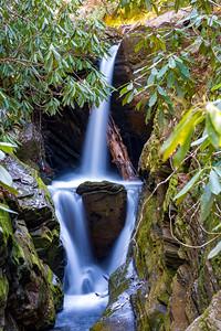 Duggers Creek Falls - Linville Gorge Wilderness - NC