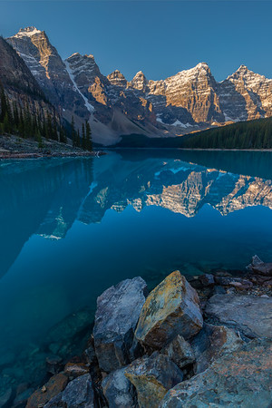 Moraine Lake and the Valley of the Ten Peaks