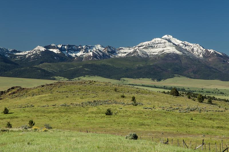 Strawberry mountain range of Eastern Oregon