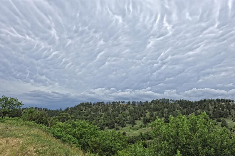 Storm Clouds Over Ft. Niobrara National Wildlife Refuge, Nebraska