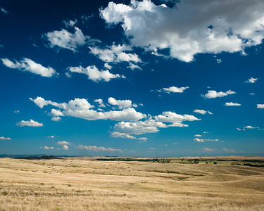 Space - Little Bighorn Battlefield, Montana