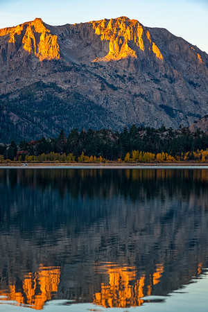 Carson Peak Reflection Sunrise - June Lake