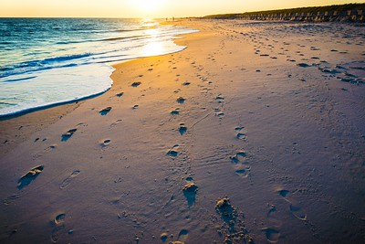 FOOTPRINTS AND SUNSETS
