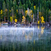 Gull Lake mist fall 2012