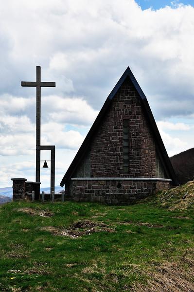 La chapelle d'Ibaneta au col de Roncevaux - Aquitaine - France