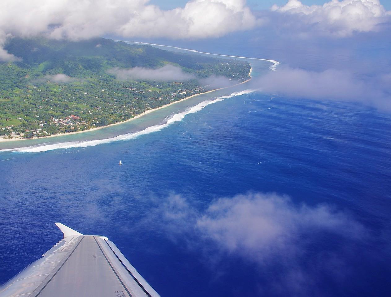 Leaving Rarotonga