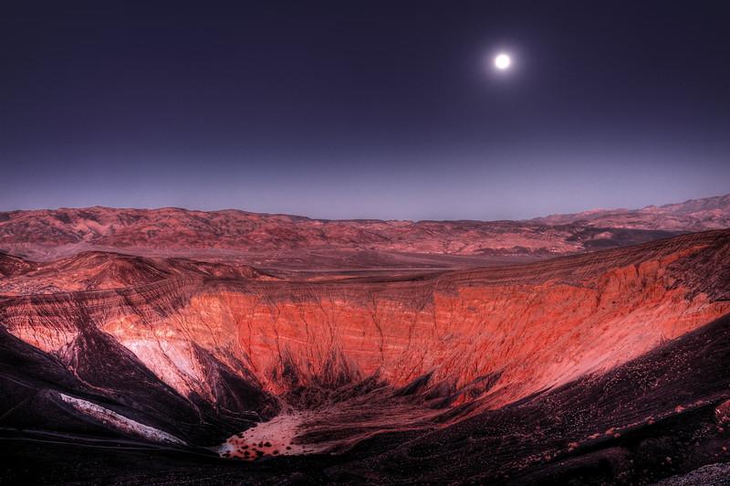 Ubehebe Crater, Death Valley, CA