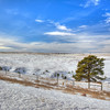Snow in the Sandhills of Nebraska near Chadron