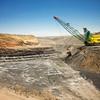 Exposed layers of the Kayenta Coal Mine in Northern Arizona