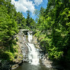 Middle section of Raymondskill Falls