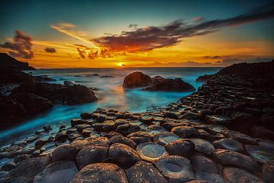 Giants Sunset