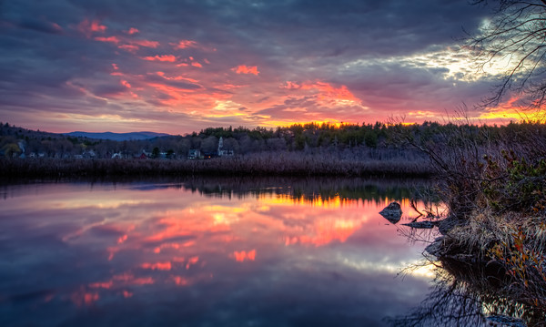 South Sutton Sunset