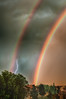 Storm Clouds and Rainbows