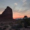 Sunrise in Arches National Park, Utah