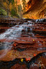 Archangel Falls, The Subway at Zion National Park, Utah