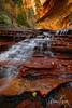 Archangel Falls, The Subway at Zion National Park, Utah