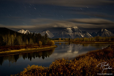 Autumn Night at OxBow Bend